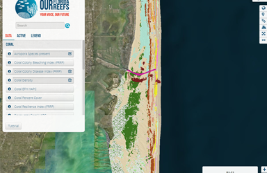 Marine Planner Mapping Tool