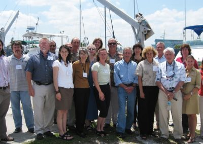LBSP TAC members at the Spring 2008 TAC meeting held at the National Coral Reef Institute of Nova Southeastern University in Broward County, FL.