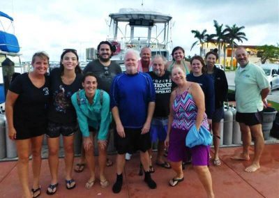 BleachWatch in-water training with Pura Vida Divers and Friends of Our Florida Reefs 2017.