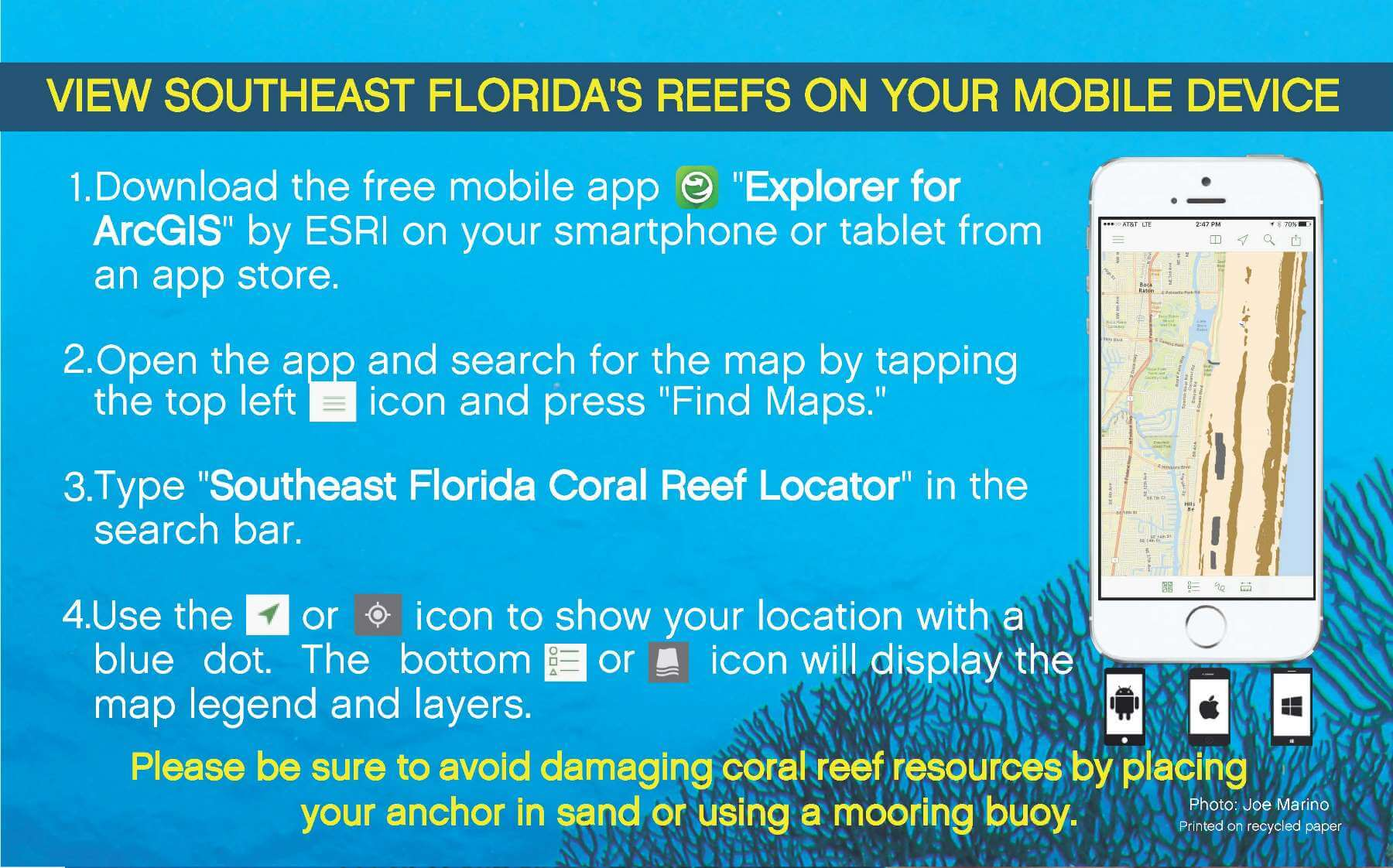 Southeast Florida Map.Southeast Florida Reefs Maps South East Florida Reefs